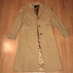 Wool and cashmere pea coat jacket J crew